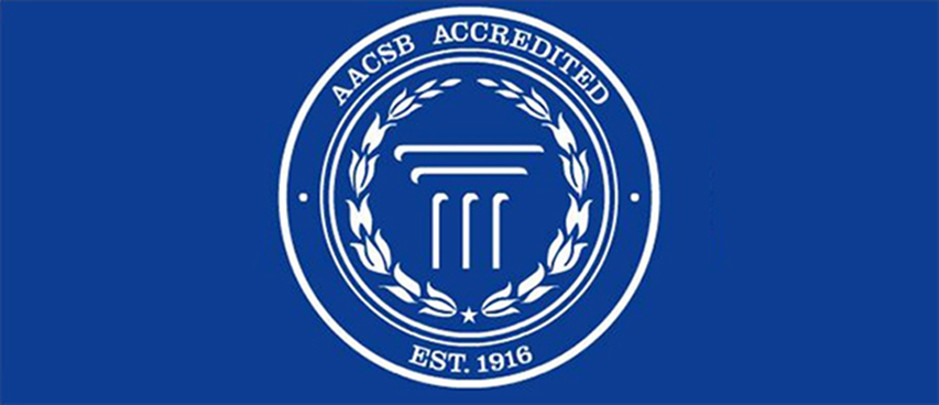 The School joins the Association to Advance Collegiate Schools of Business, which began accreditation standards in 1919 to ensure top-quality business education.
